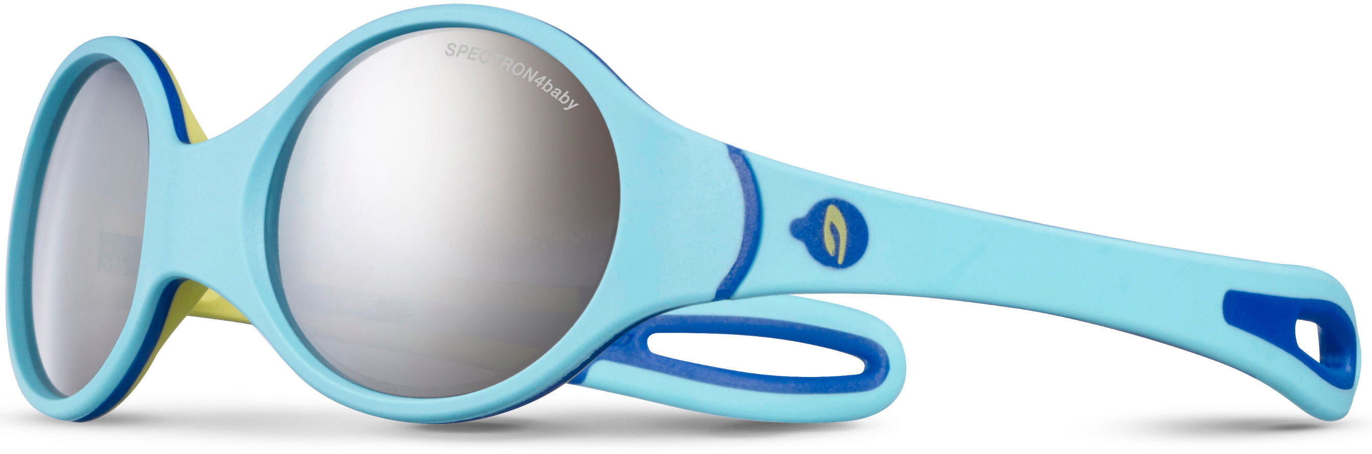 36d0c65ba94f29 Julbo Loop Spectron 4 Sunglasses Baby 2-4Y Sky Blue Yellow Blue-Gray ...